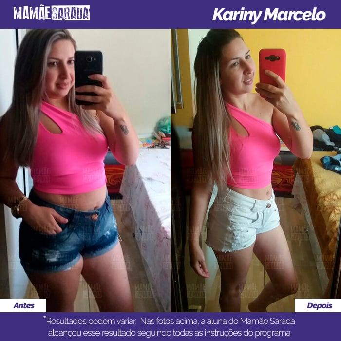 Kariny é prova: Mamãe Sarada funciona!