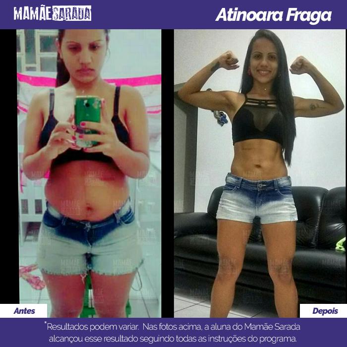 Atinoara teve resultado com o Mamãe Sarada