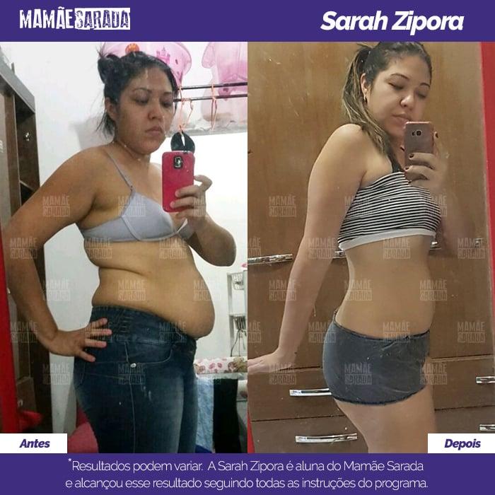 O Mamãe Sarada fez Sarah mudar seu corpo por completo (e para melhor)